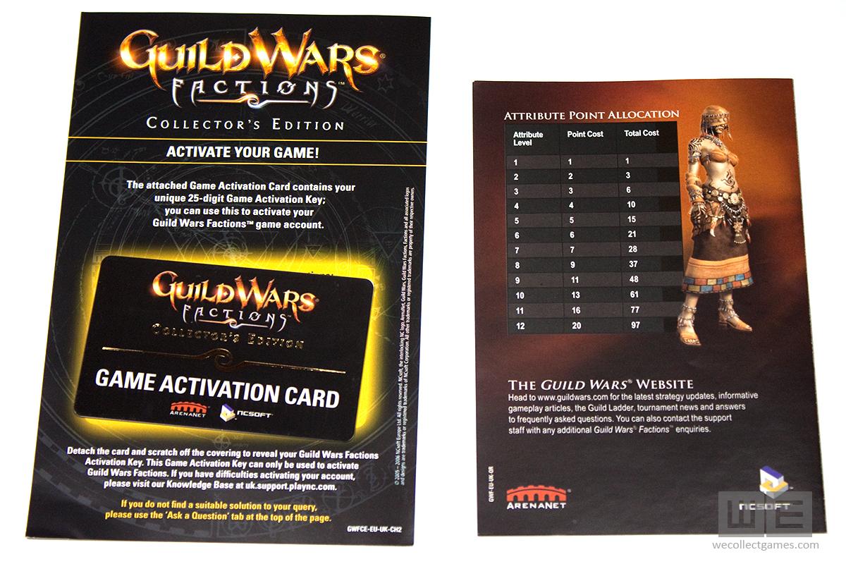 Guild wars factions cd