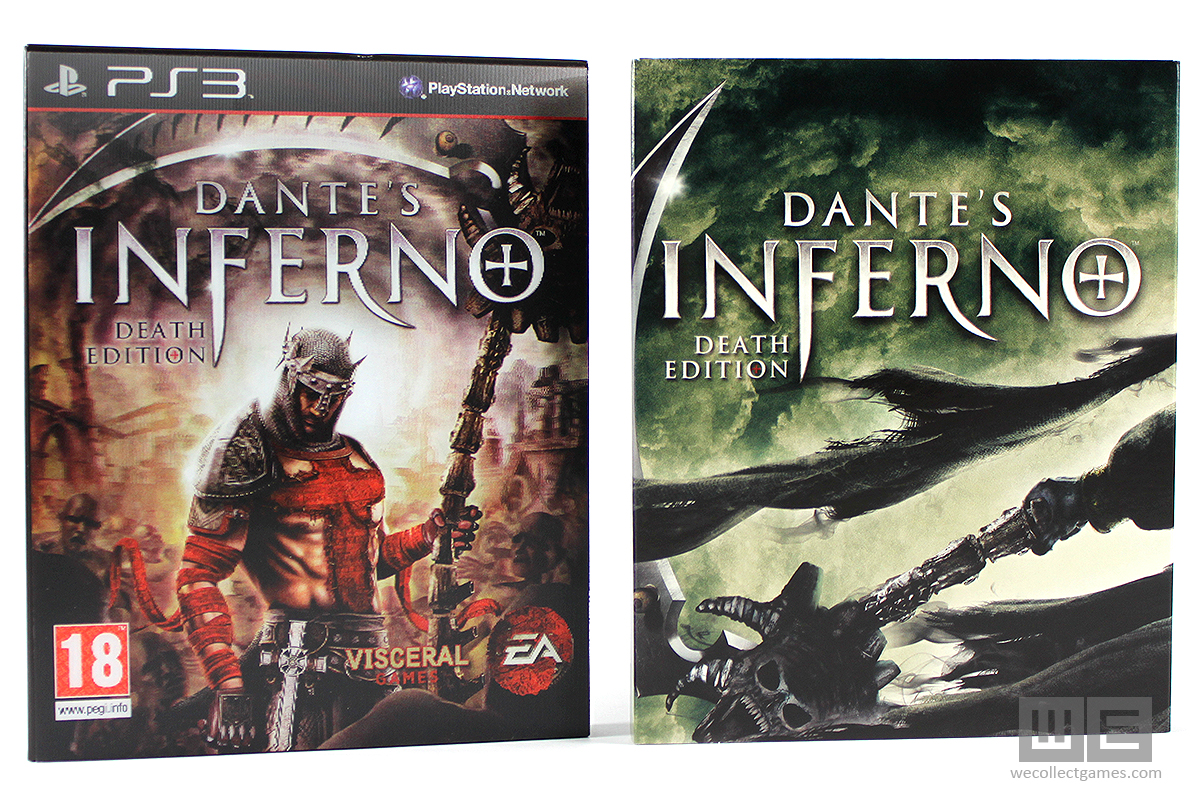 Xbox 360 dante's inferno: death edition original game sealed pack.