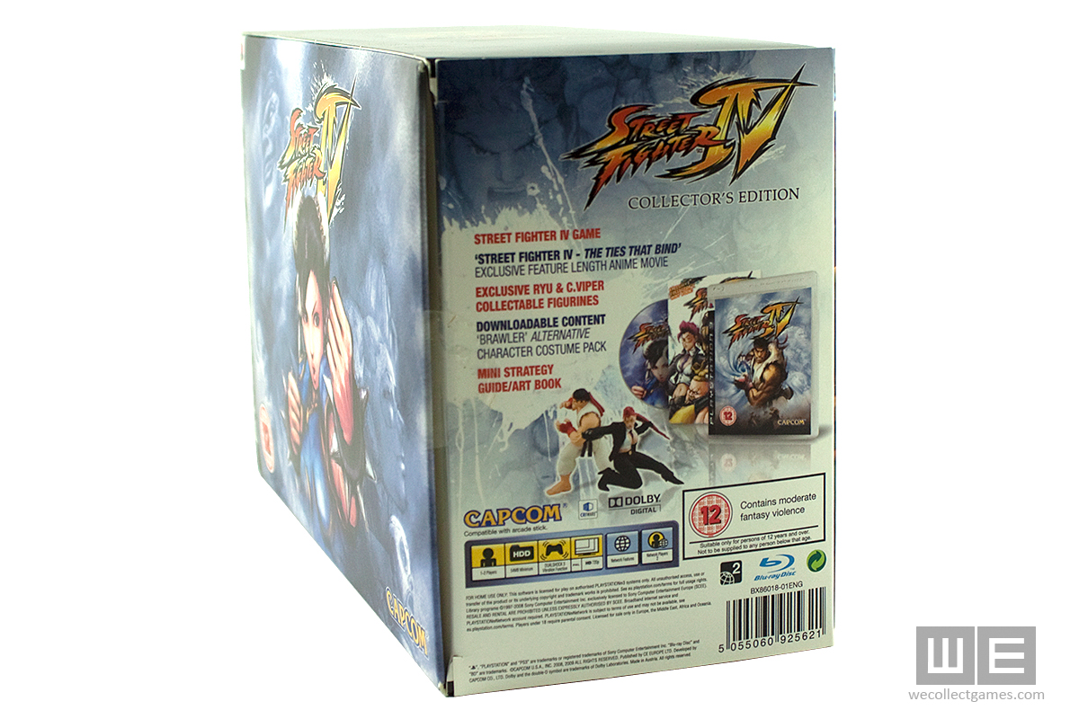 Street Fighter Iv Collector S Edition We Collect Games