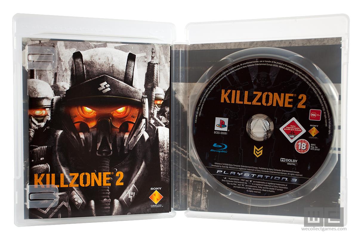 Killzone 2, limited edition collector's box, steelbook, ps3.