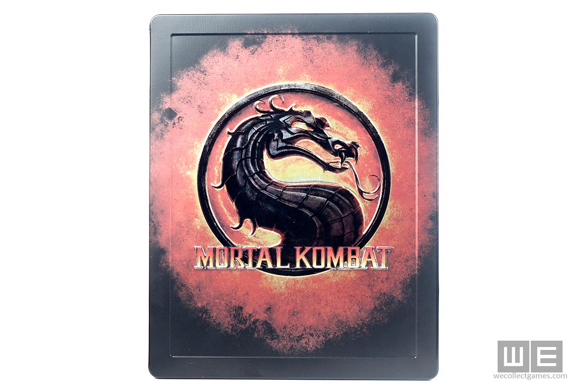 Mortal Kombat Kollector's Editgion Steelbook case
