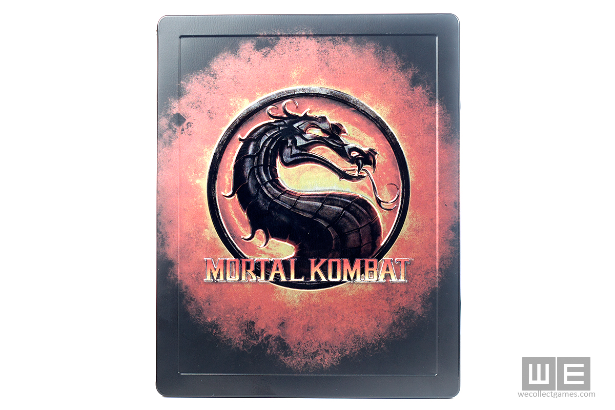 Mortal Kombat Kollector's Editgion Steelbook case