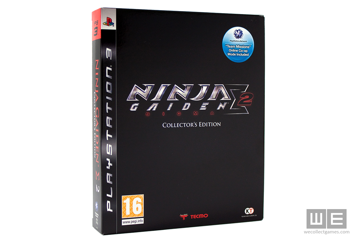 Ninja Gaiden Sigma 2 Collector S Edition We Collect Games