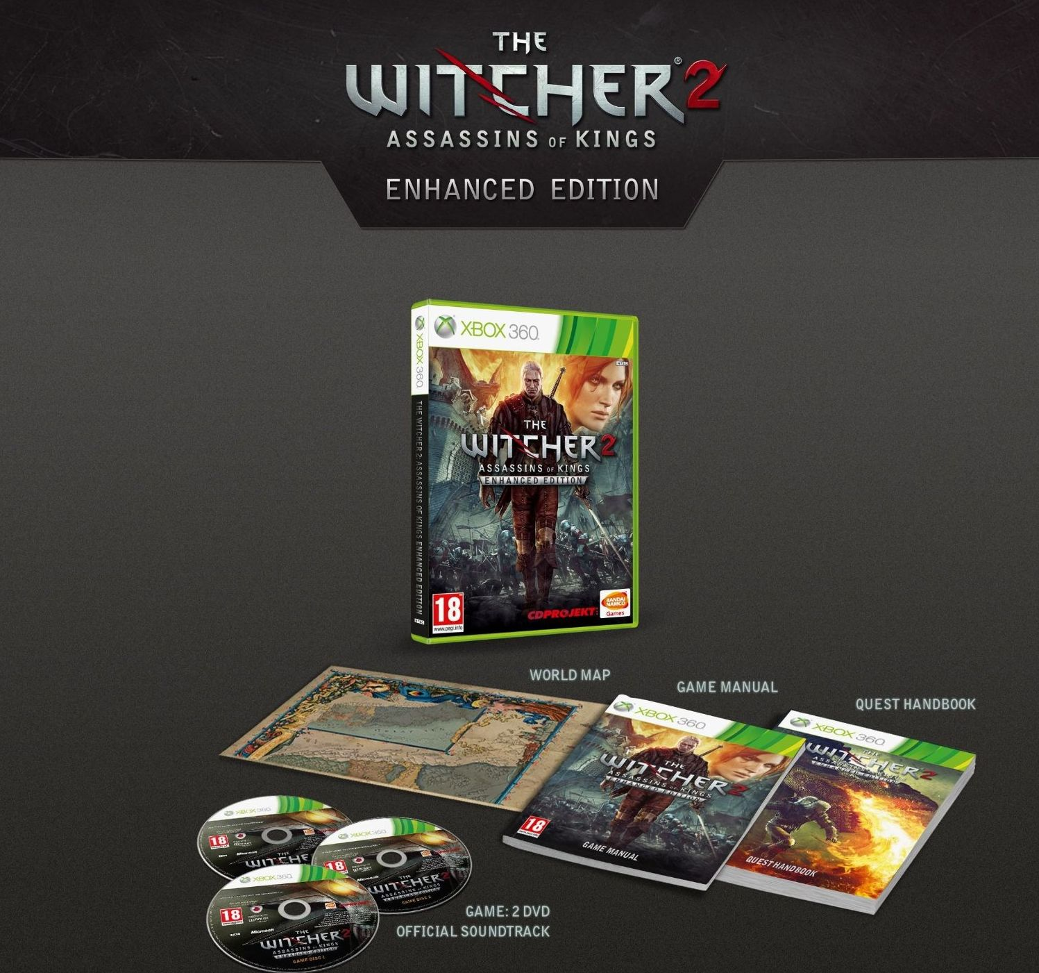 The witcher 2: assassins of kings dark edition.