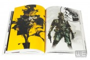 Metal Gear Solid HD Collection Limited Edition Artbook