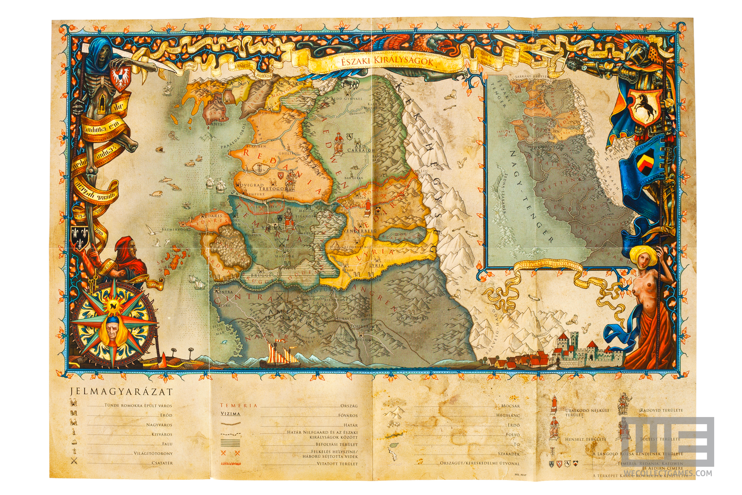 Witcher 2 story clarification needed witcher fantastic world map gumiabroncs Image collections