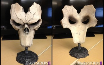 Darksiders 2 Death mask replica