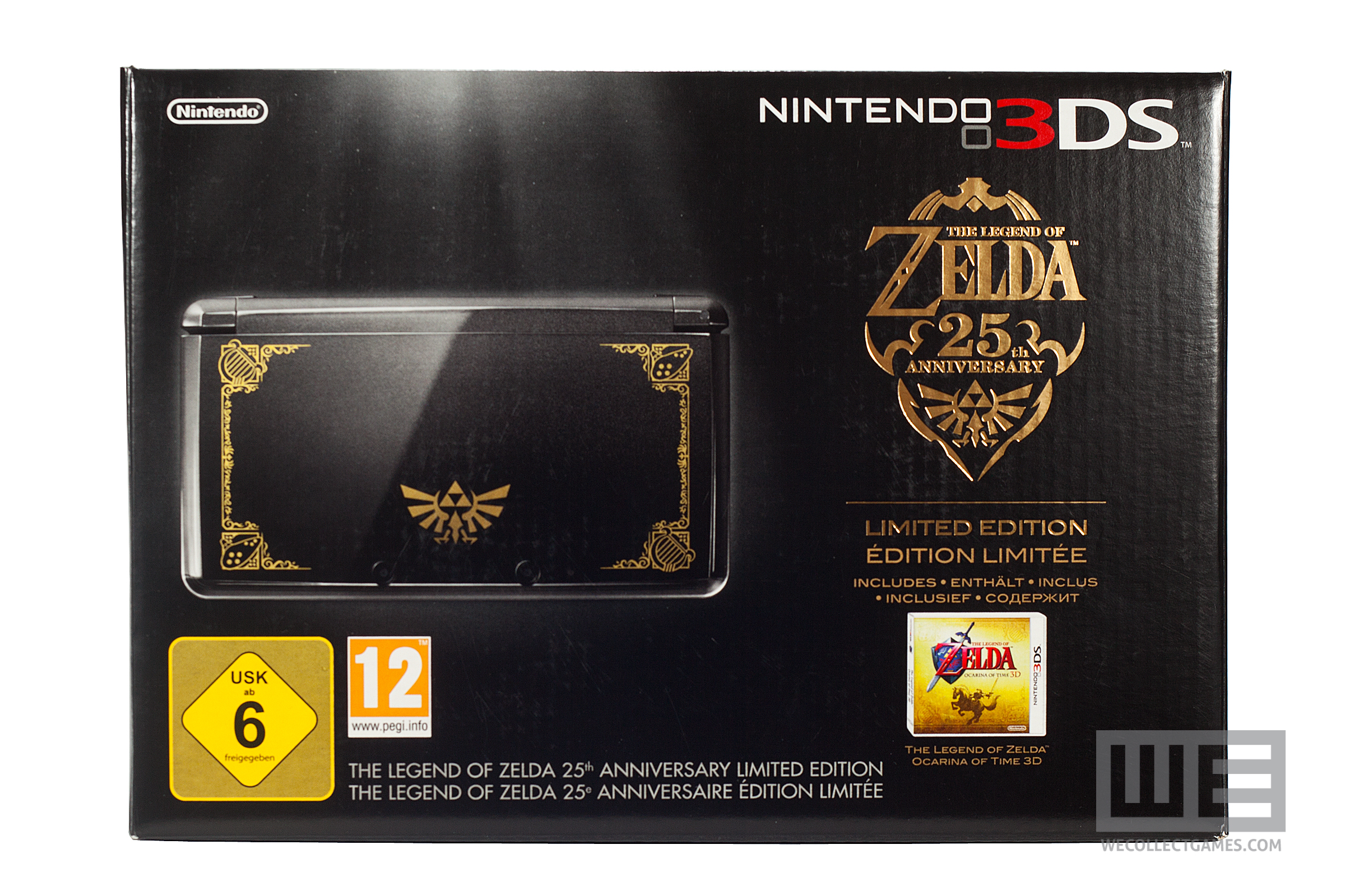 limited edition 25th anniversary zelda 3ds