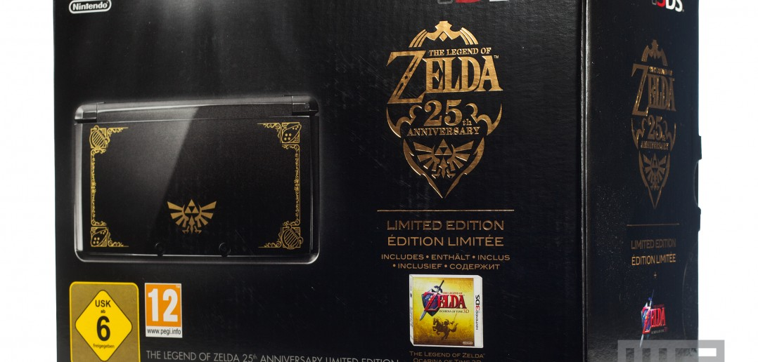 The Legend of Zelda 25th Anniversary Limited Edition Nintendo 3DS 03