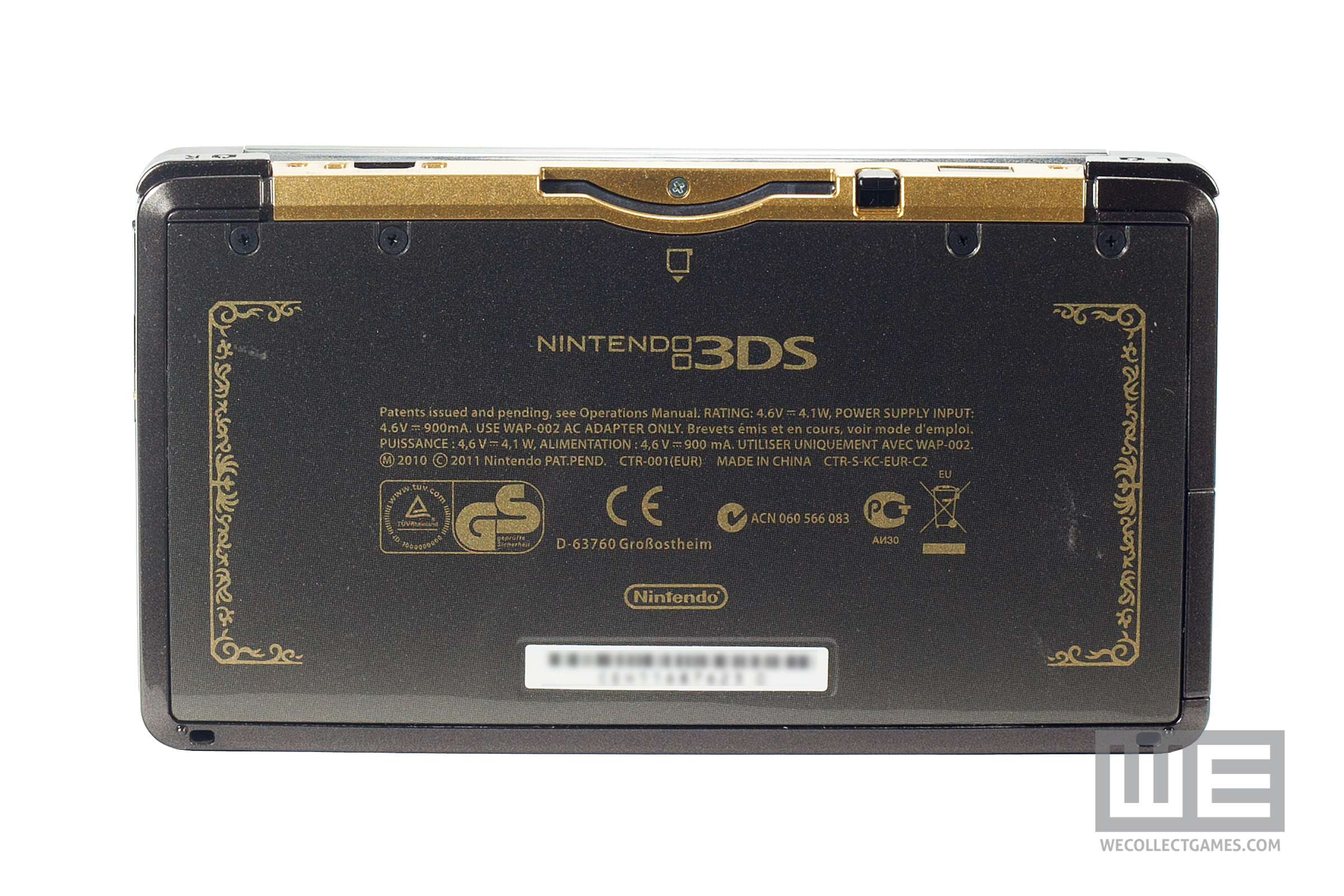 The legend of zelda 25th anniversary nintendo 3ds limited edition console we collect games - Ocarina of time 3ds console ...