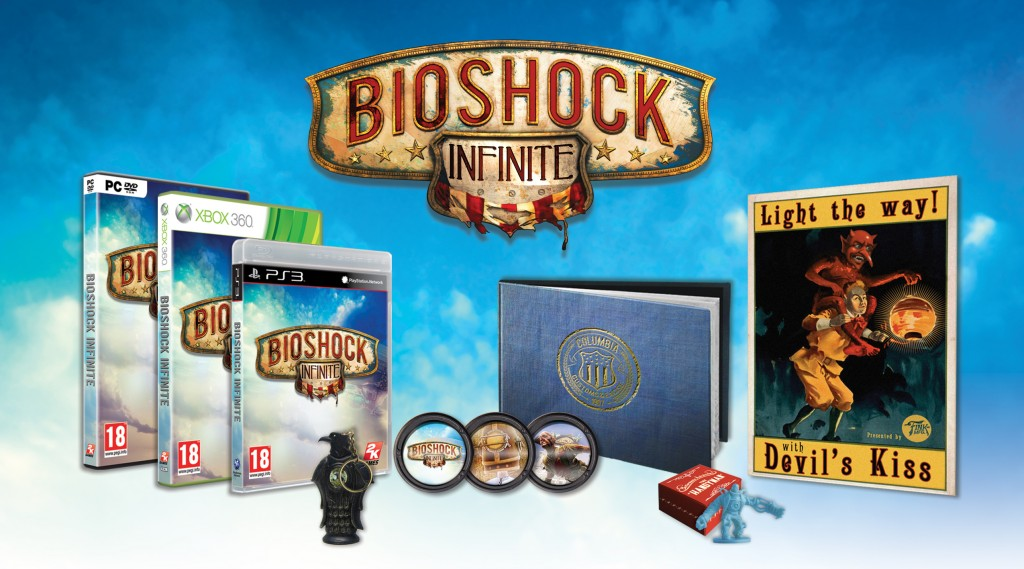 BioShock Infinite Premium Edition - PC, Xbox360, PS3