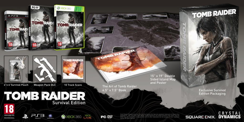 Tomb Raider Survival Edition 2013 - WE collect games