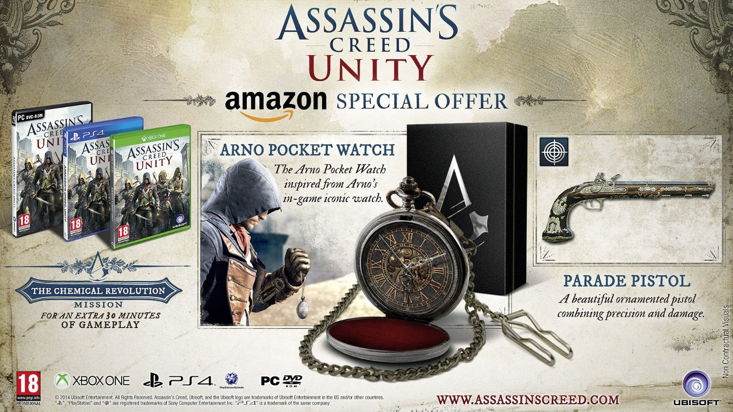 Assassin's Creed Unity Amazon Edition