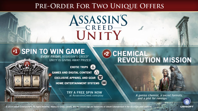 Assassin's Creed Unity Gamestop Edition