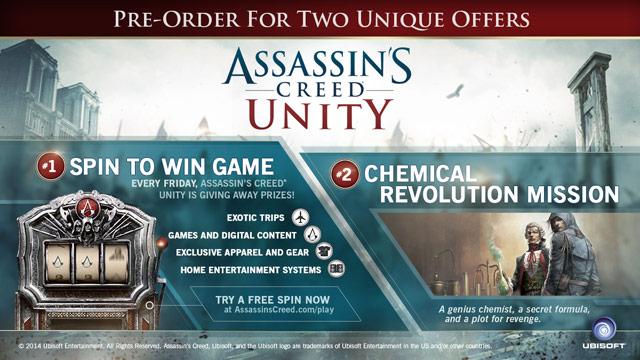 Assassin's Creed Unity Gamestop Edition
