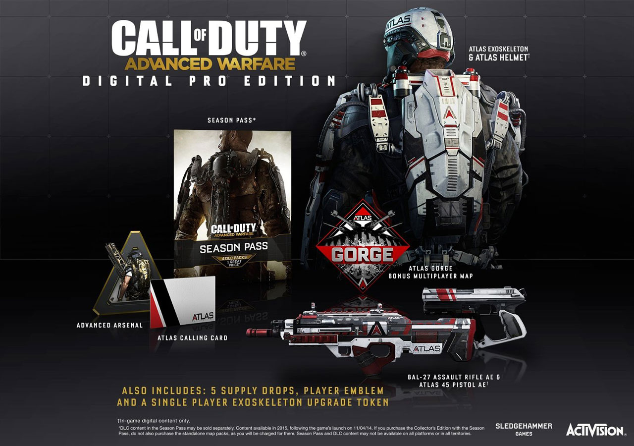 Call of Duty Advanced Warfare Digital Pro Edition