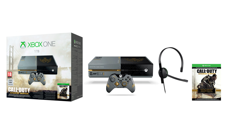 Limited Edition Xbox One Call of Duty Advanced Warfare Bundle
