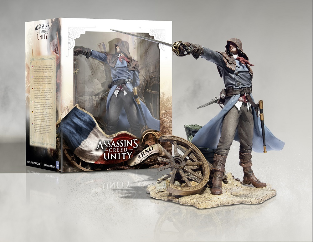 Assassin's Creed Unity Arno Statue