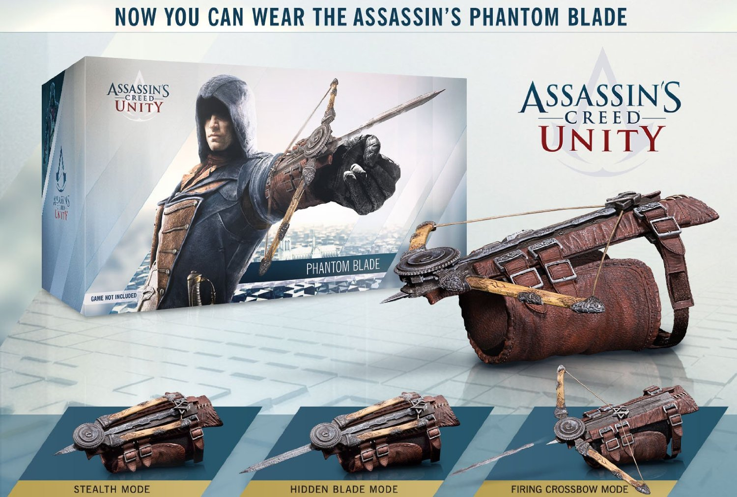 Assassin's Creed Unity Phantom Blade Replica