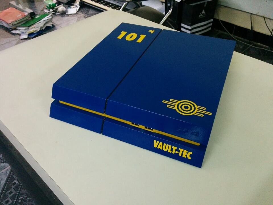 Fan Made PlayStation 4 Fallout Edition