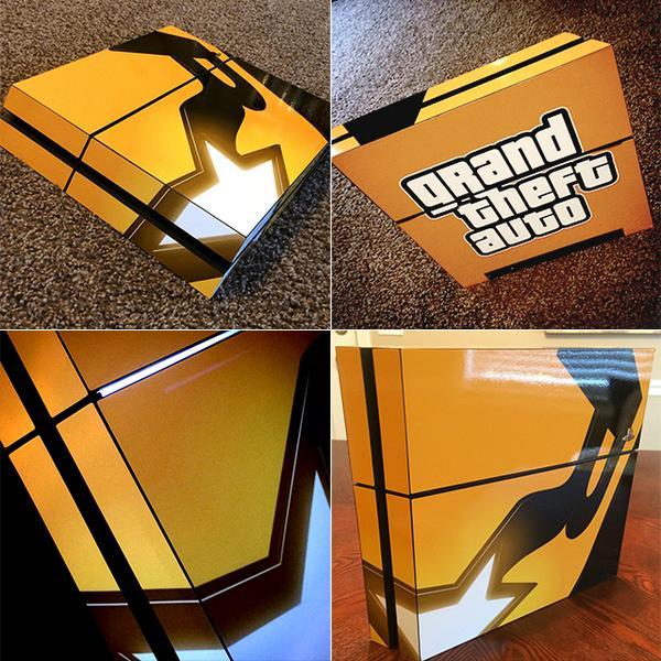 Fan Made PS4 GTA Edition