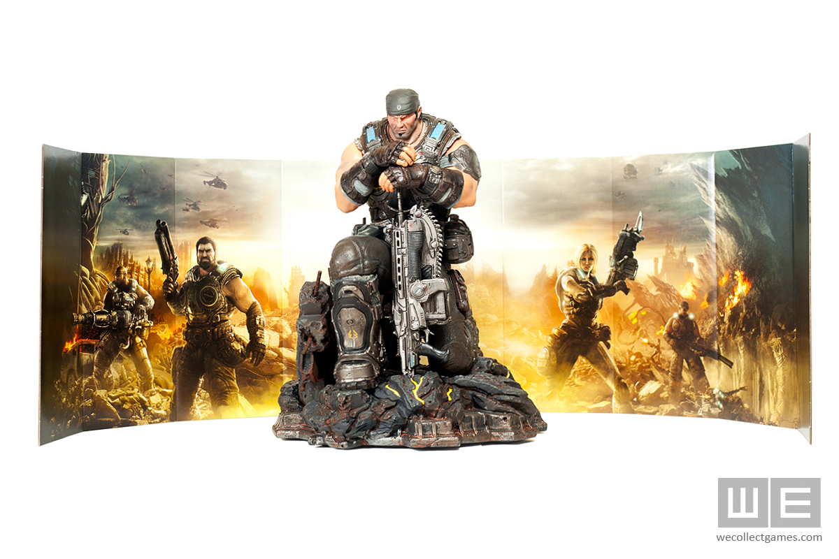 Gears of War 3 Epic Edition Statue