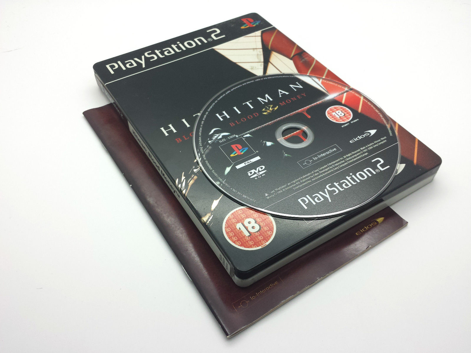 Hitman Blood Money Steelbook