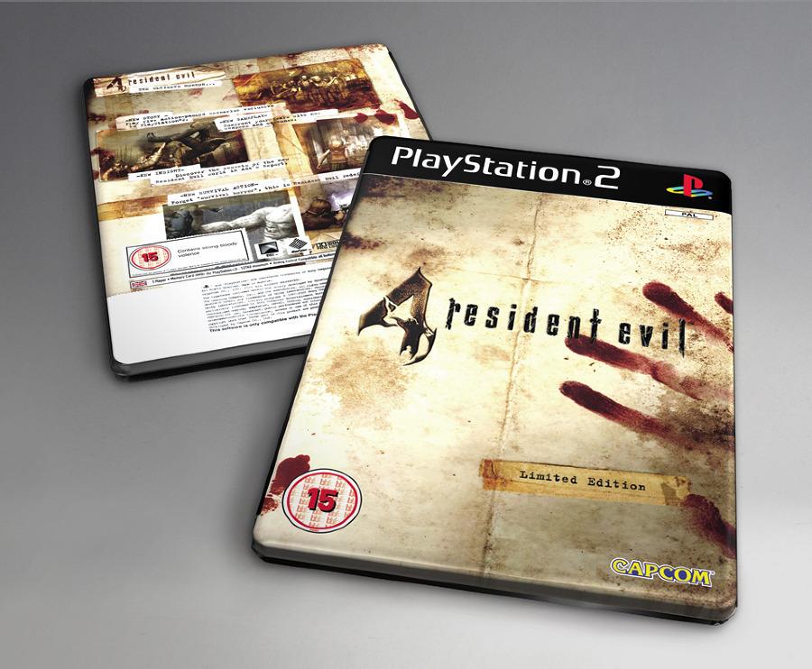 Resident Evil 4 Steelbook