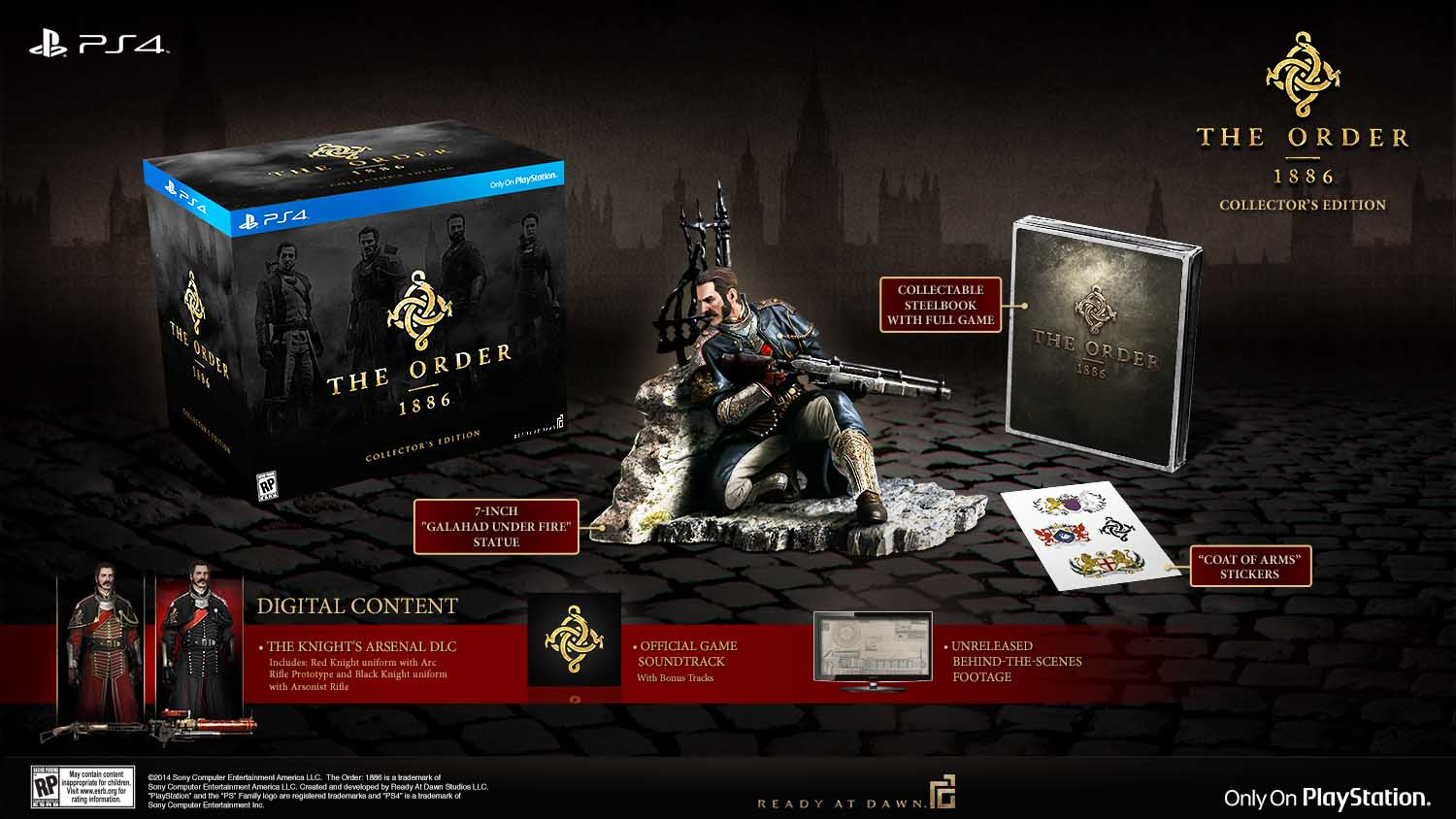 The Order: 1886 US Collector's Edition