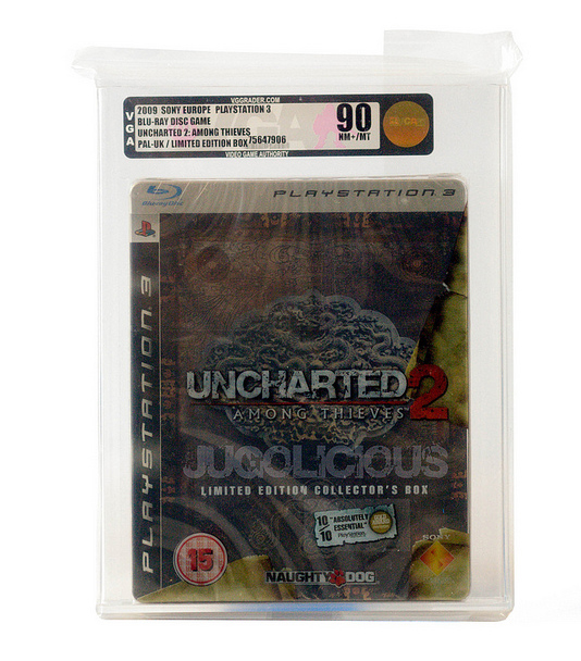 Uncharted 2 Among Thieves UK LImited Edition