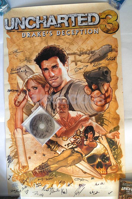 Uncharted 3 Adam Hughes Poster