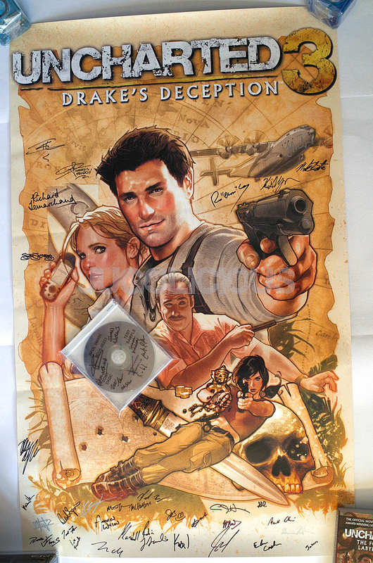 Uncharted 3 Adam Hughes Poster