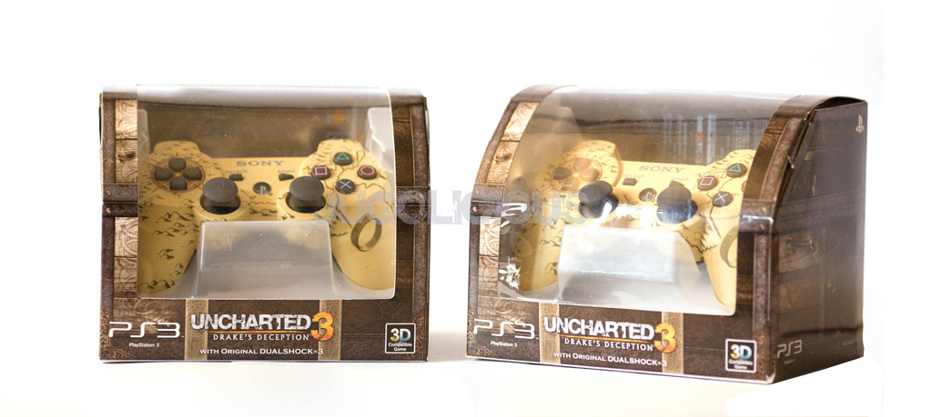 Uncharted 3: Drake's Deception Asia Controller