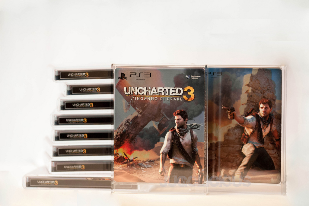 Uncharted 3: Drake's Deception BBVGamerush Italy G2 Steelbook