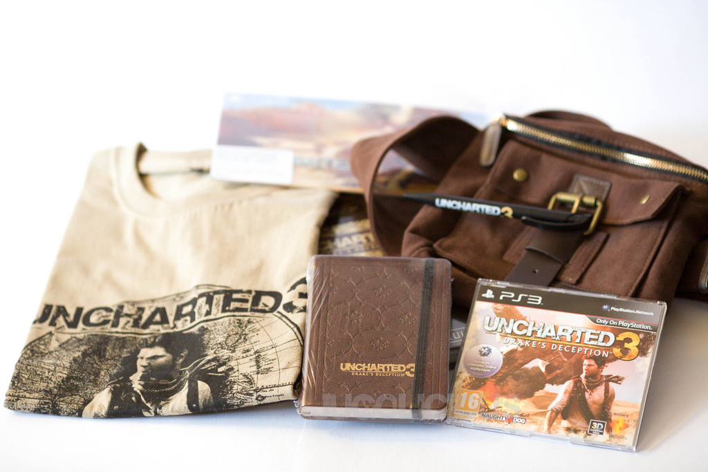 Uncharted 3 Conference Kit