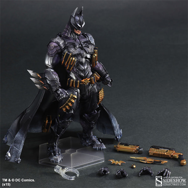 Armored Statue by Square Enix of Batman