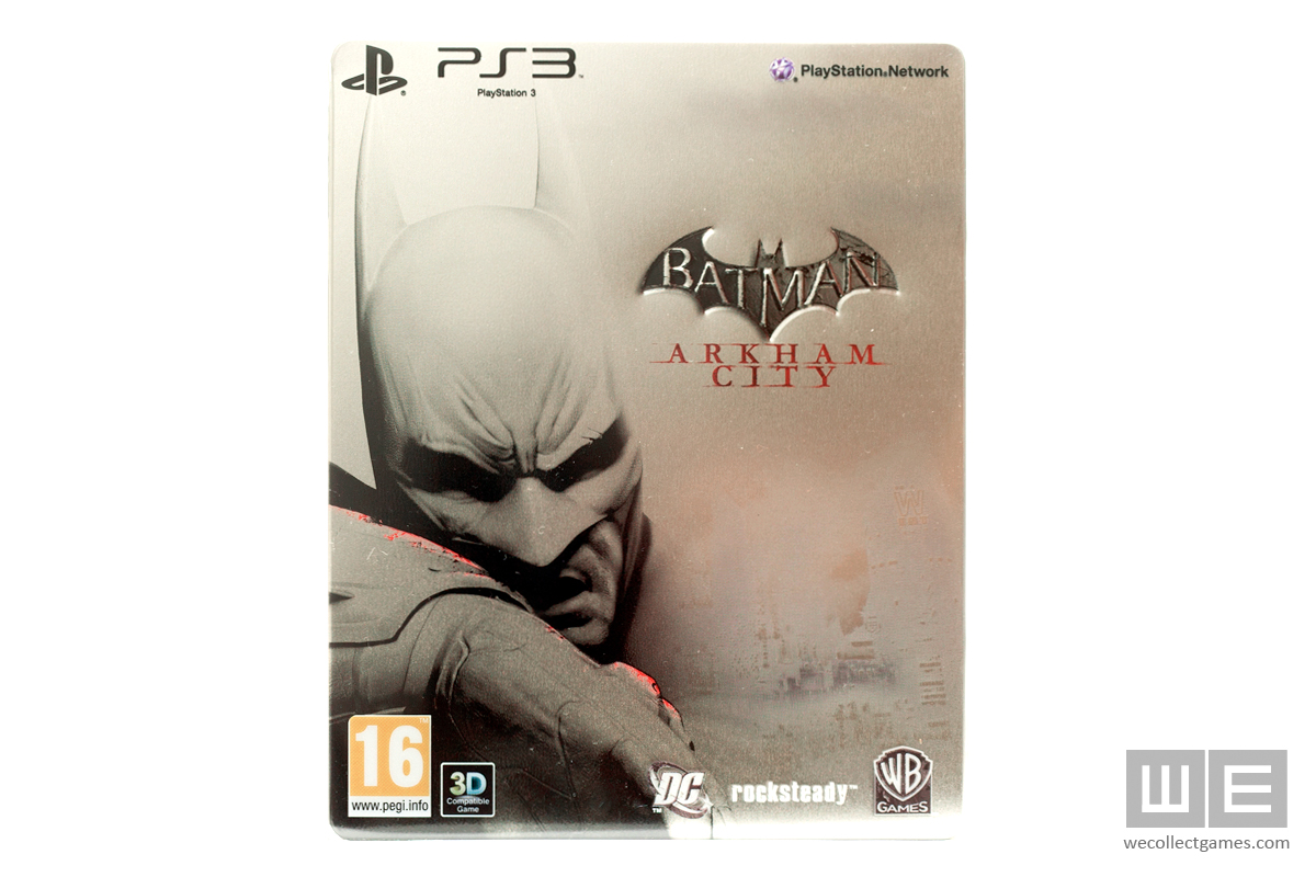 Batman: Arkham City Steelbook