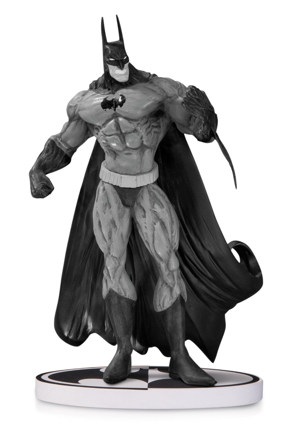 Batman Black & White Statue by Simon Bisley