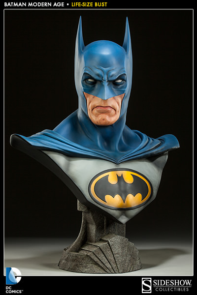 Batman: Modern Age Life-Size Bust by Sideshow Collectibles