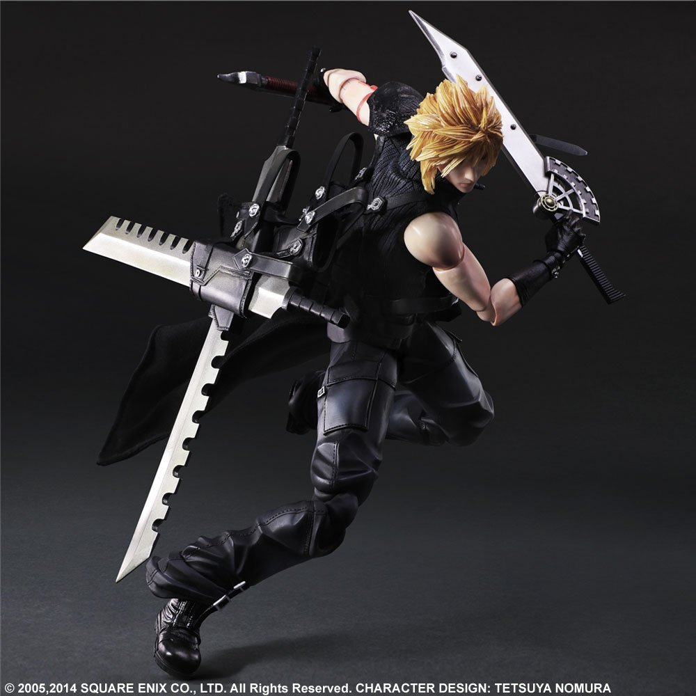 Play Arts Kai Cloud Statue