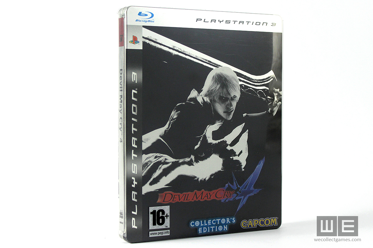 Devil May Cry 4 Steelbook