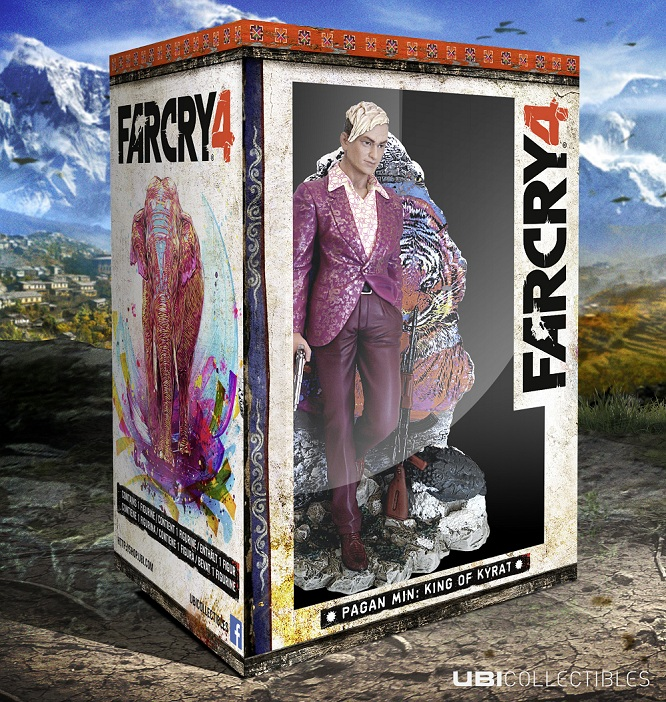 Far Cry 4 Pagan Min Statue