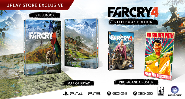 Far Cry 4 Steelbook Edition