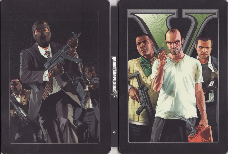 Grand Theft Auto V steelbook