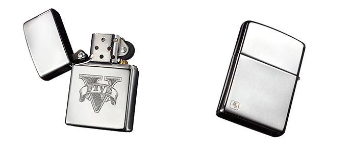 Official Grand Theft Auto V Zippo lighter