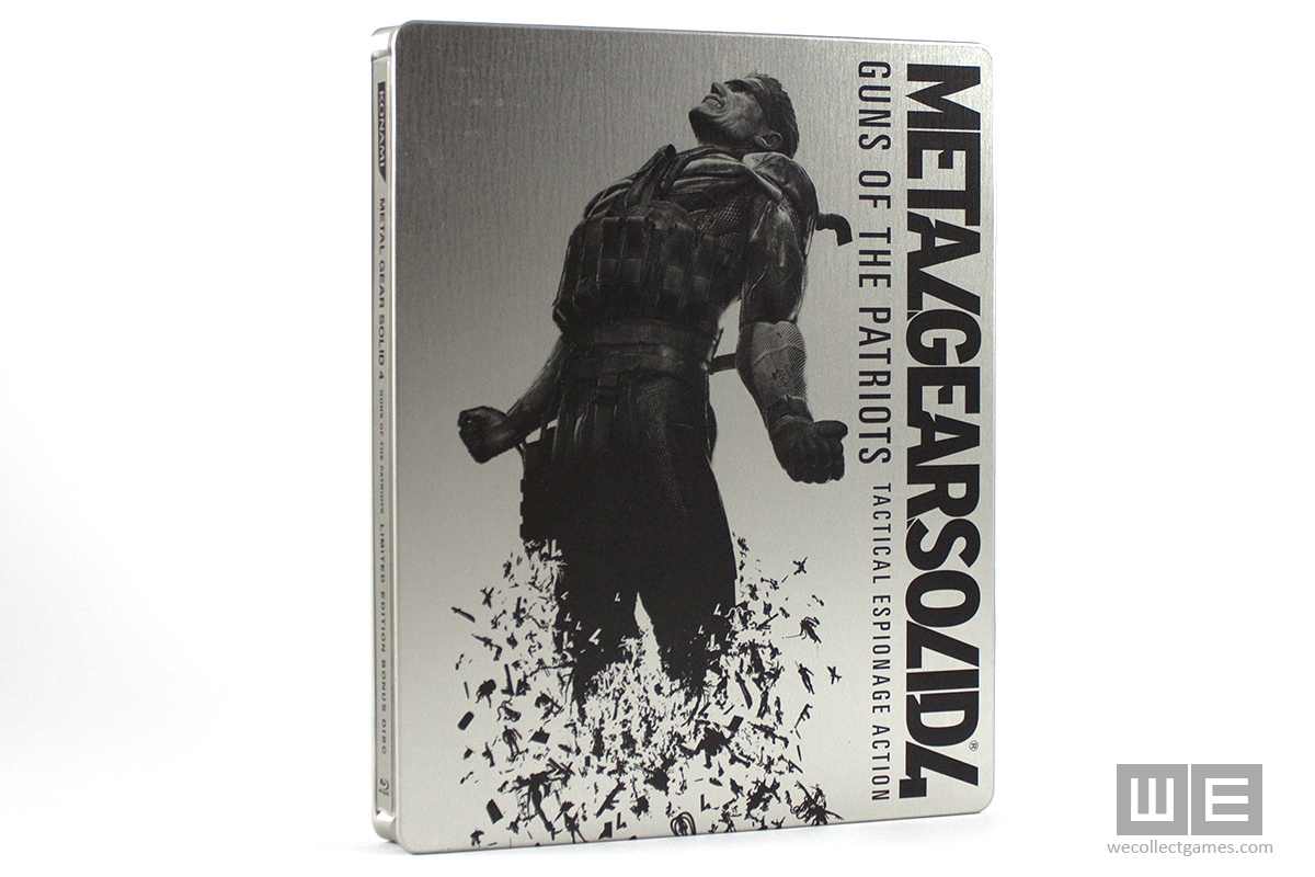 Metal Gear Solid 4: Guns of the Patriots Steelbook (JPN)
