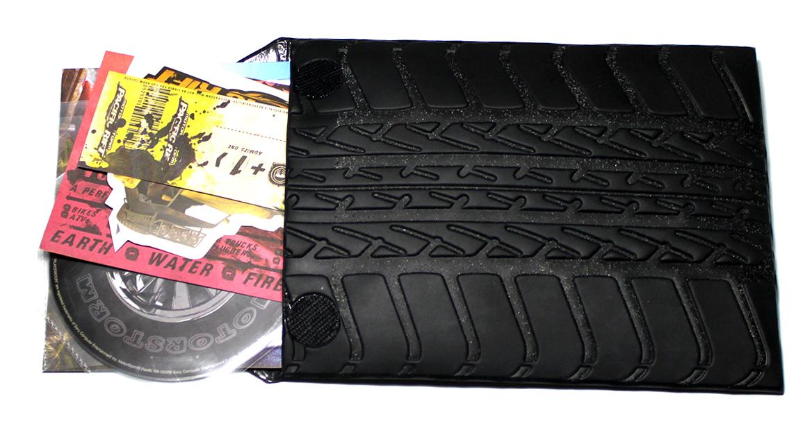 MotorStorm Pacific Rift Press Kit design