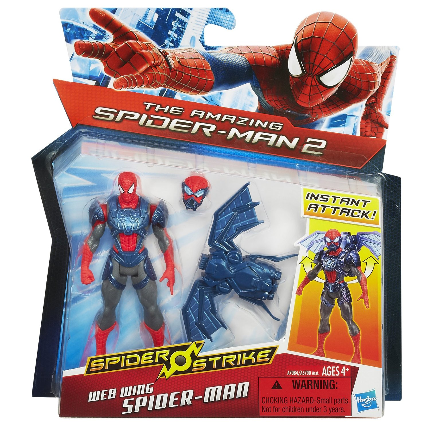 Spider Strike Web Wing Spiderman Figure