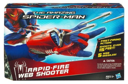 Spiderman Rapid-Fire Web Shooter