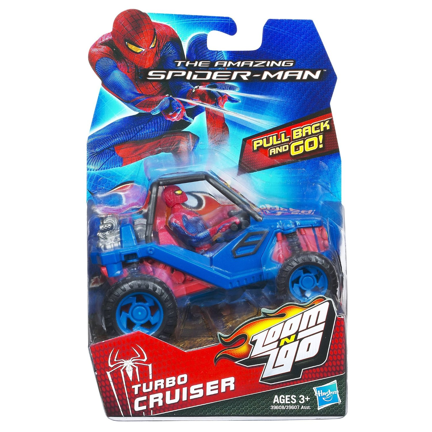 The Amazing Spiderman Zoom n Go Turbo Cruiser Vehicle